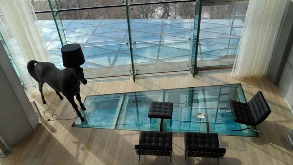 12 Beautiful Glass Floors To Add A Special Charm To Your Interior    Beautiful, 12. And Interiors