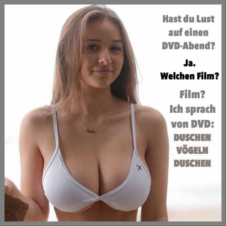Das ist doch ein schöner Anblick, von dem DVD-Angebot ganz zu schweigen. Nichts da, mit da oben etwas weniger haben wollen. Immer daran denken, beim Anblick nur einer solchen Brust sinkt das Denkvermögen der Männer um 50%. Wo ist das Denkvermögen der Männer bei zwei solchen Brüsten??? Weg!