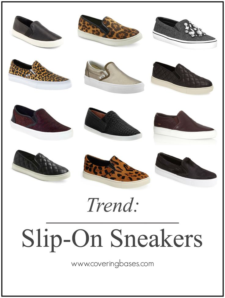 Covering the Bases | Fashion and Travel Blog New York City: Slip On Sneakers