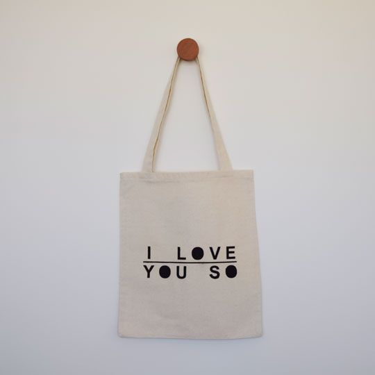Made By Mee + Co | I Love You So Tote