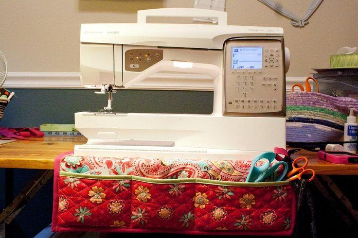 sewing machine mat organizer