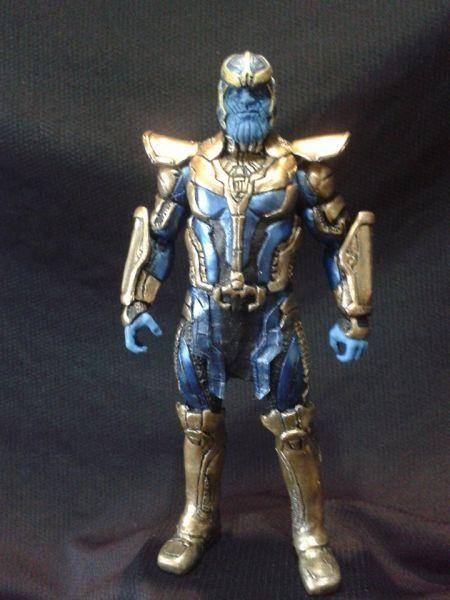 custom thanos movie version (Marvel Legends) Custom Action Figure