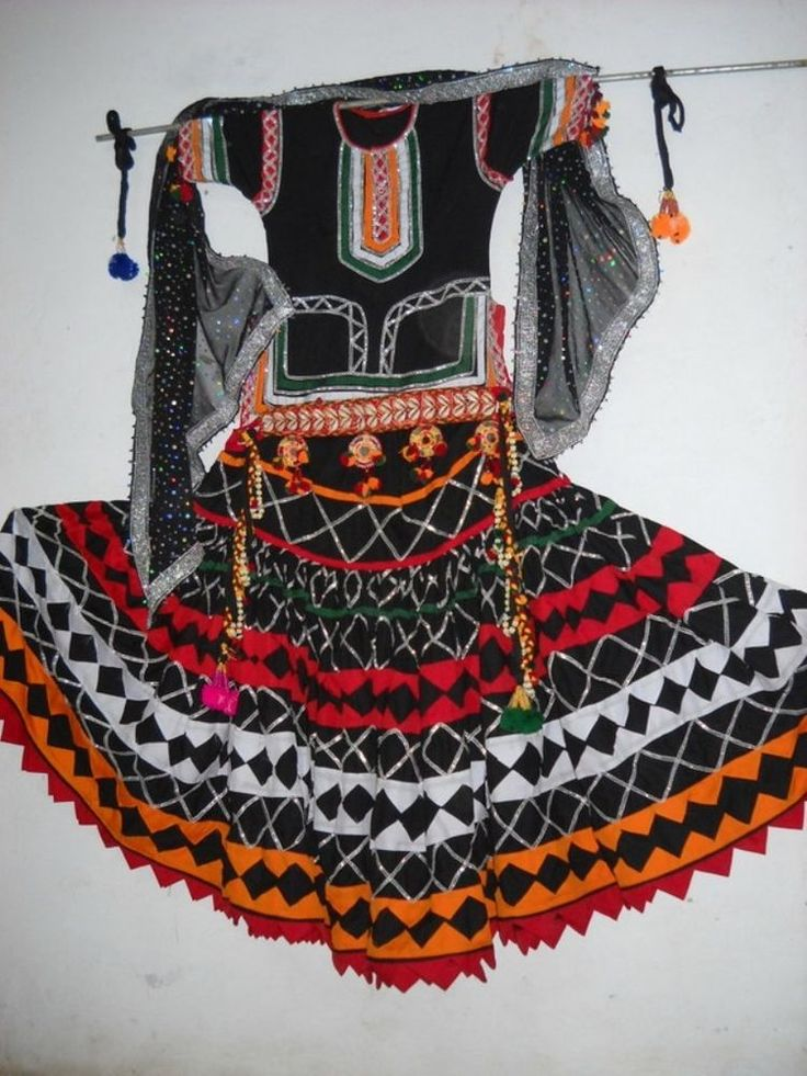 Gypsy dress Indian traditional kalbeliya dance wear # ...