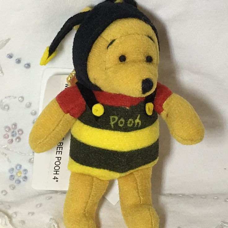 Pooh in a bumble bee costume. Personal collection. Stored since purchase. Vintage. Free Ship USA! I only ship within the US! Please read our store policies prior to purchase. #japandisney #disney #pooh #disneystore #disneyland #tokyodisney #bumblebee #bumblebeepooh #bee #beepooh #magnet #plush     Shop this product here: http://spreesy.com/vintagebeachntoys/79   Shop all of our products at http://spreesy.com/vintagebeachntoys      Pinterest selling powered by Spreesy.com