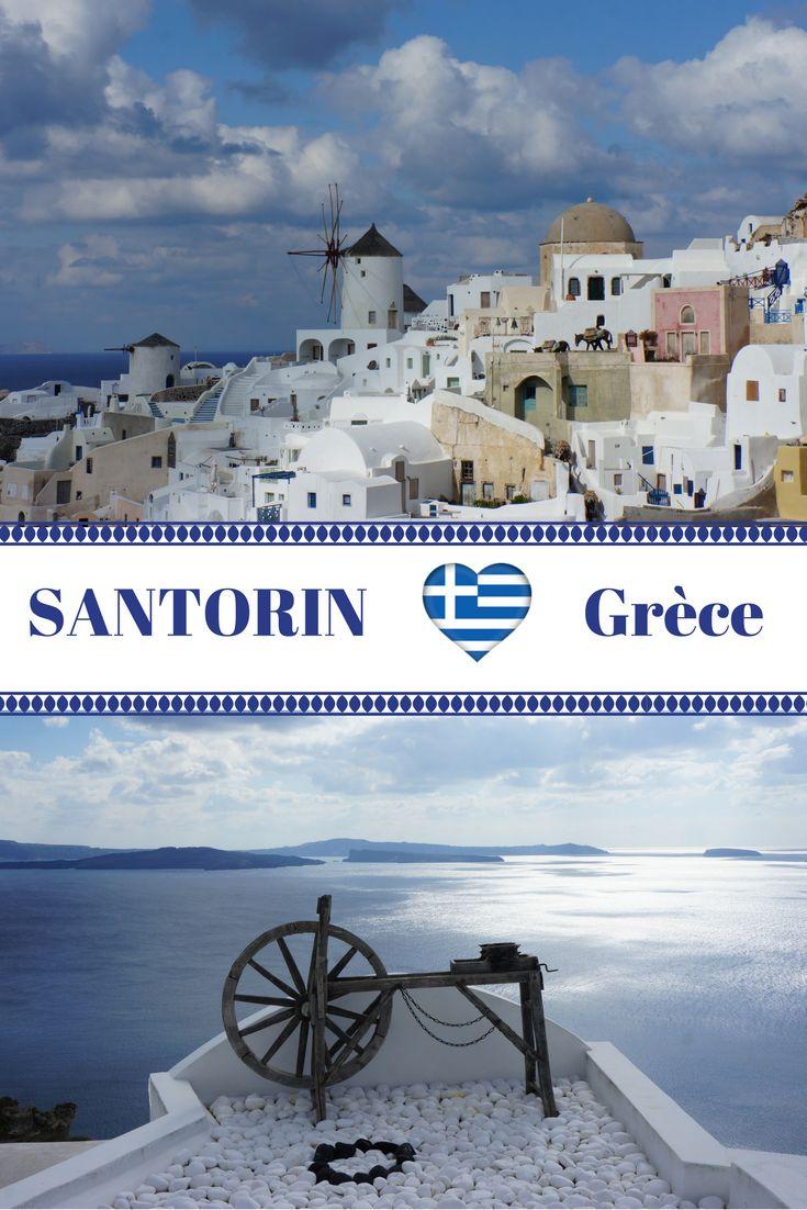 La magnifique île de Santorin dans les Cyclades en Grèce. Récit de notre voyage à Santorin, une fois en été et une seconde fois hors de la saison touristique, en plein hiver. Idées de randonnées, itinéraire, et bonne adresses pour découvrir l''ile volcanique de Santorin en quelques jours.