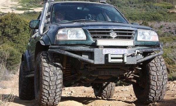 Suzuki Grand Vitara 2004 5 Inch Suspension Lift 2 Inch Body Lift 33 Inch Mt Tyres Vehiculos Todoterreno Camiones Gmc Autos Modificados