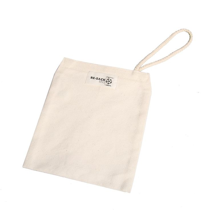 Organic canvas bag, made of organic cotton with Velcro fastener. Has many uses, a fruit & veg bag, use a snack bag or a carry pouch while out and about.
