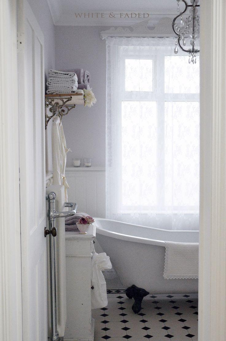 13 best images about landelijke badkamers on pinterest - Badkamer retro chic ...