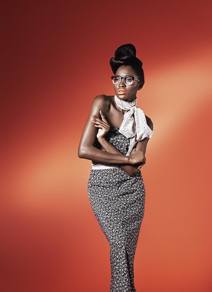 Sparrow print Maxi dress