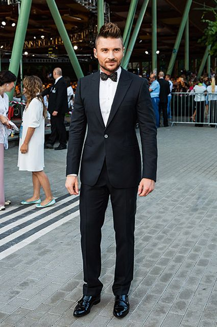 Sergey Lazarev first told about his son