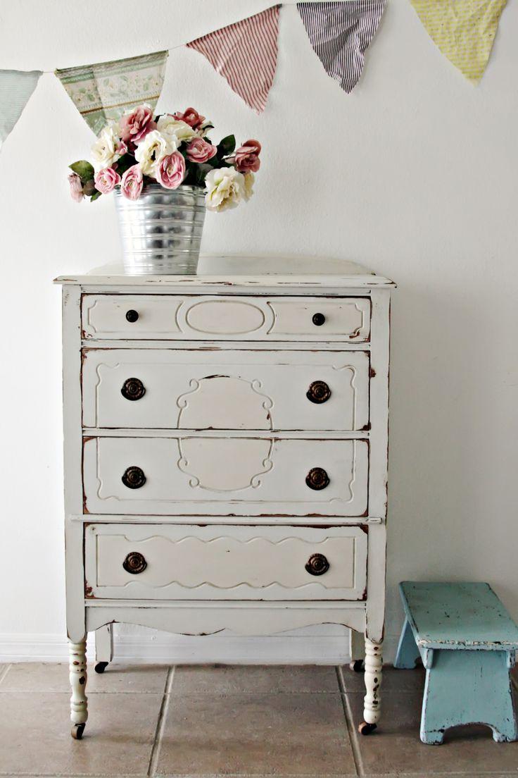 Vintage Cottage Desk/Vanity [Sold] Charming Vintage Dresser[Sold] Vintage Shabby Chic Cabinet [Sold] Charming Antique Nightstand/Side Table [Sold] Antique Berkey & Gay Dresser [Sold] Vintage F…