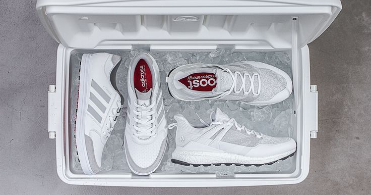 Adidas has just released its new special edition all-white golf shoes. Grab a pair now before you head to the green.