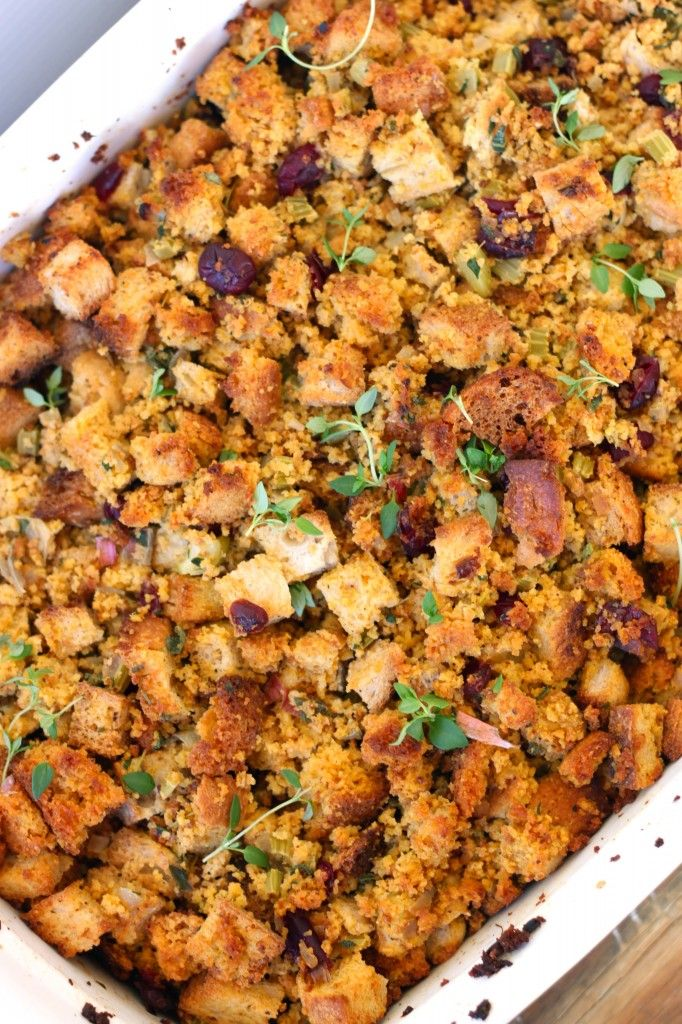 healthy cornbread dressing :) | Recipe Keepers | Pinterest