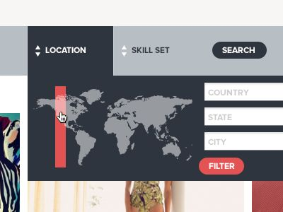 This concept for location search is a nice twist