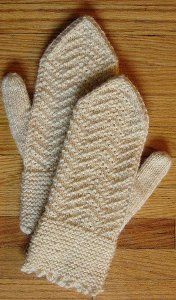 Maplewood Mittens free pattern