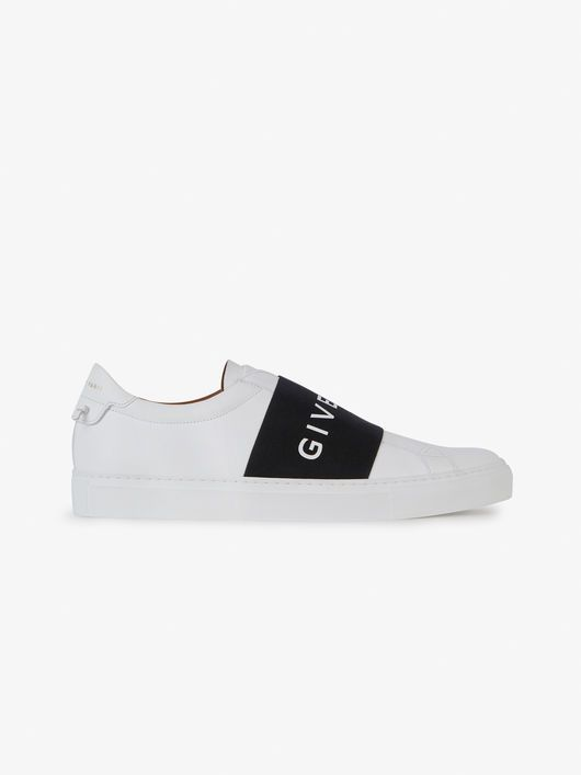 a83a1ae135e PARIS strap sneakers in leather in 2019