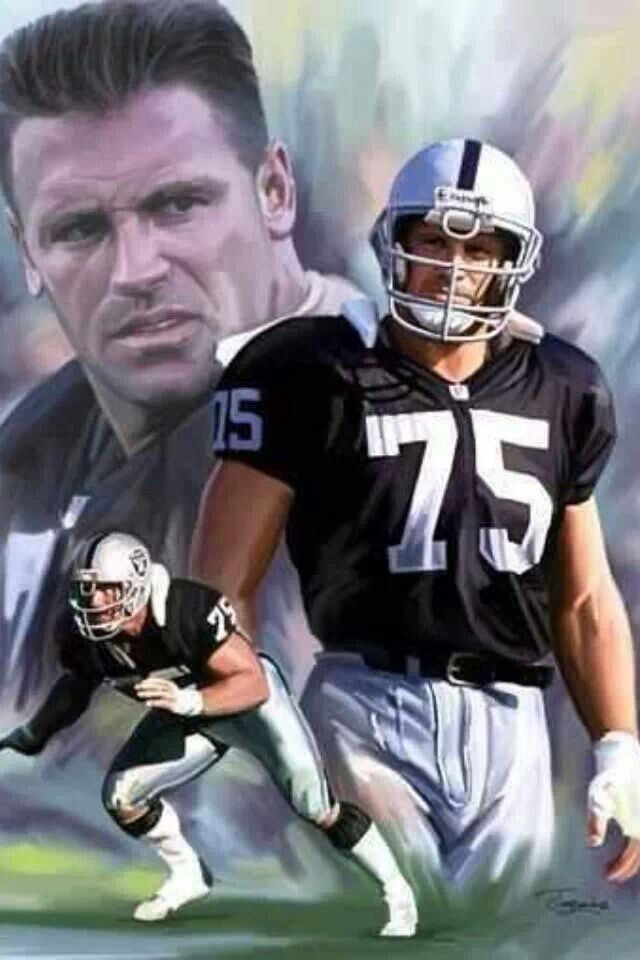 Oakland Raiders   Howie Long  HOF