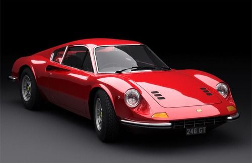 Ferrari Dino- if had to choose just one car, this would be