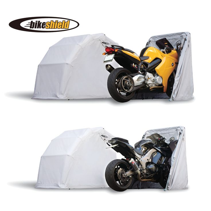 The Bike Shield  Motorcycle Garage  thebikeshield.com
