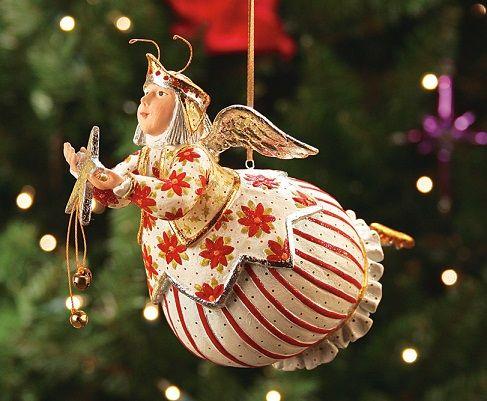 Celeste Star Fairy Ornament by Patience Brewster