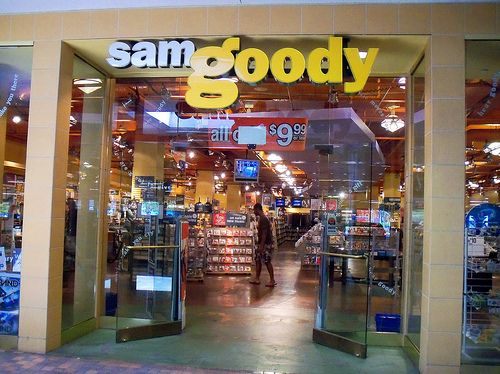 Sam Goody was to music what Suncoast was to movies at the mall in the 90's.  And they were both owned by the same parent company that now owns FYE.~Andy