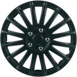 Wieldoppen Suzuka R14 Zwart (mat) 4 stuks  Instelbare metalen ring zorgt voor optimale voorspanning en vastzitten van de afdekplaat. Klik verder voor meer info.  EUR 19.99  Meer informatie