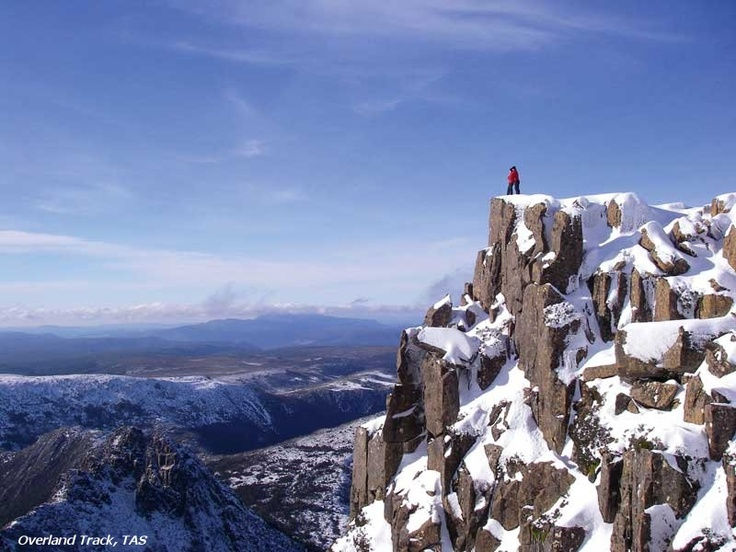 Tasmania's Central North wilderness, from Cradle Mountain in the North to Lake St Clair to the South.