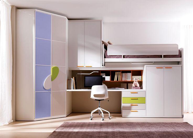 Camere Da Bambini Con Soppalco : Mobili per camerette piccole gallery of design moderno per