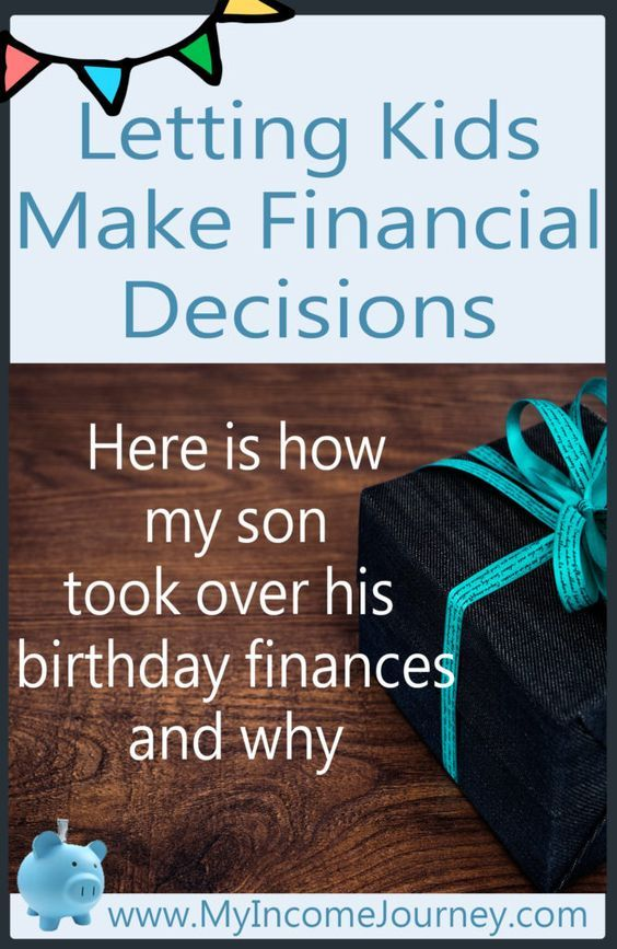 Letting Kids Make Financial Decisions! Here is how my son took over his birthday finances and why. Teaching our kids to be financially successful!