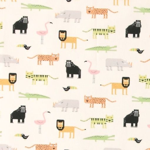 Baumwolle, Natur mit digitalen Wildtiere