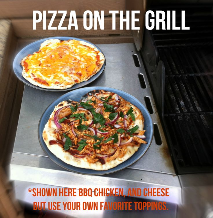 Used frozen pizza dough, homemade spaghetti sauce from the freezer & leftover chicken on my grilled pizza tonight. Super quick, super easy and delicious. http://cookingcheat.com/freezer-meals #frozen #dough #pizza #grill #barbecue