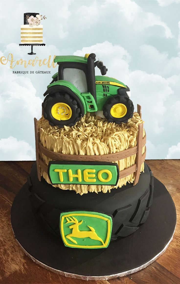 Best 25 Gateau Tracteur Ideas On Pinterest G 226 Teaux D
