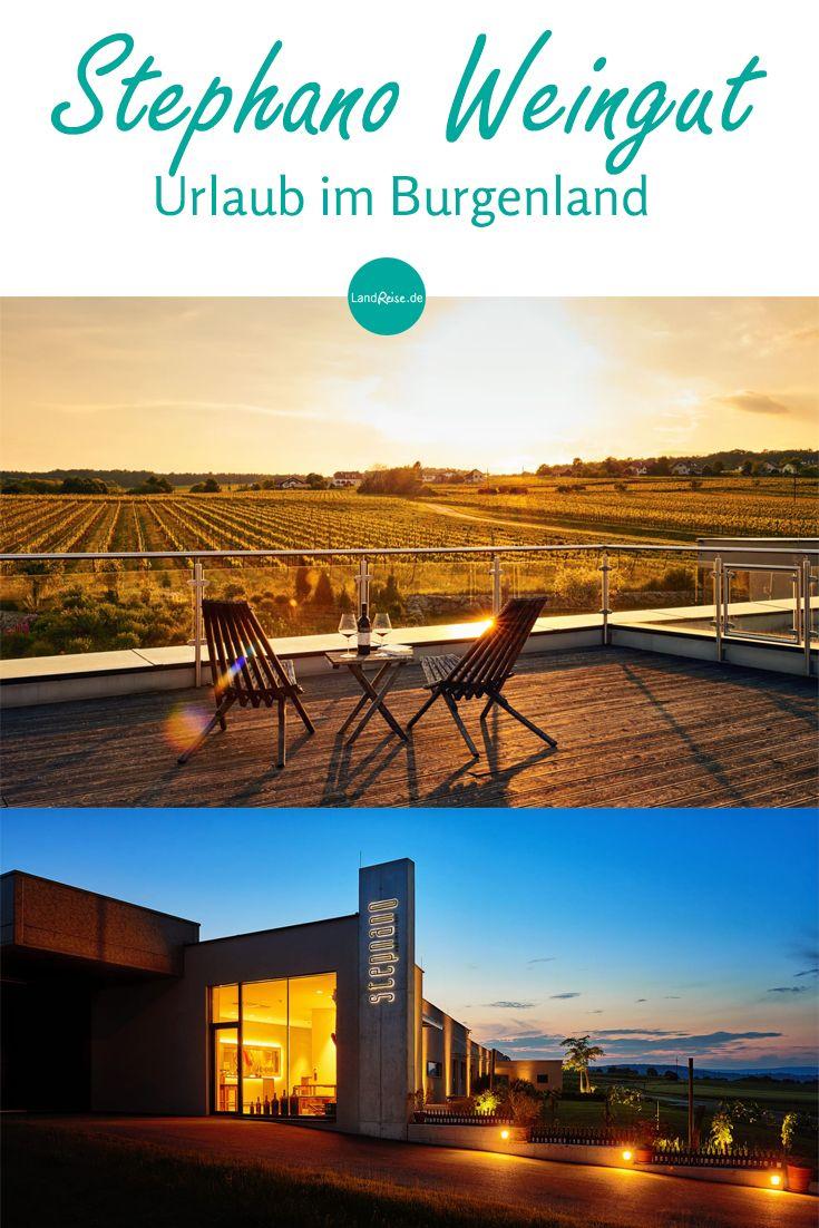 Entschleunigung am Weingut StephanO. Romantische Weinberge, leckere Verkostungen beim Winzer & die Alleinlage mitten im Burgenland machen einen Urlaub beim Winzer in Österreich so besonders.