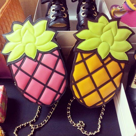 bolsa divertida abacaxi