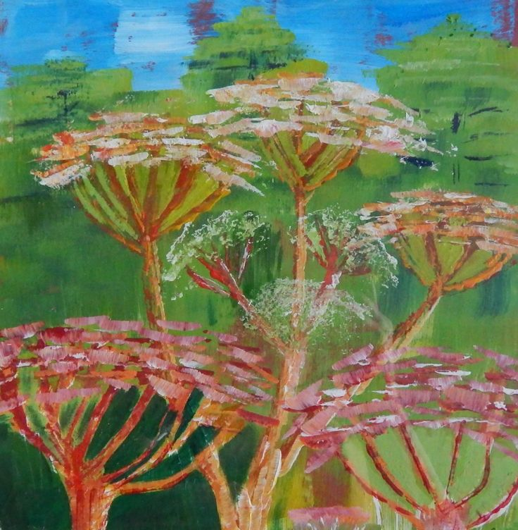 Cow Parsley Sue Grundy  Sue also teaches workshops at the Rhydymwyn nature reserve.