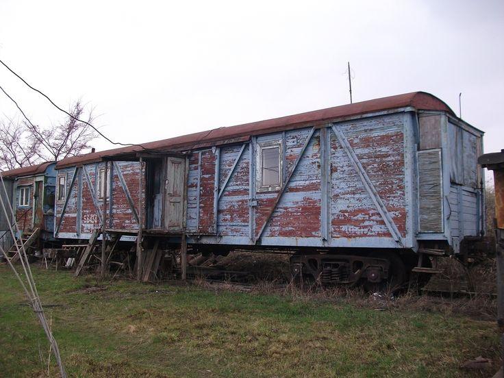 Крытый вагон