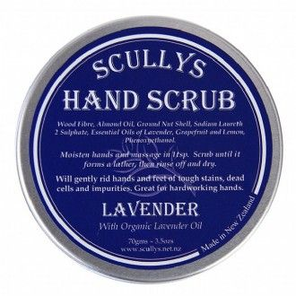 The most aaaaamaaaazing handscrub  love x http://www.scullys.net.nz/afawcs0157372/CATID=171/ID=171/SID=131351952/Lavender-Hand-Scrub.html