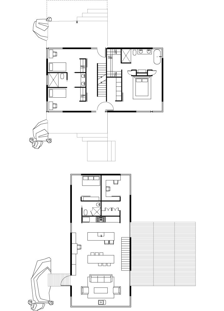 64 best small house floor plans images on pinterest for Dwell small house plans