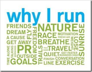 why I run.