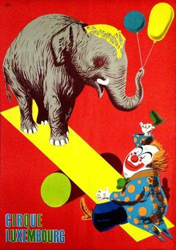 Cirque Luxembourg (Benkő Sándor, 1969.)