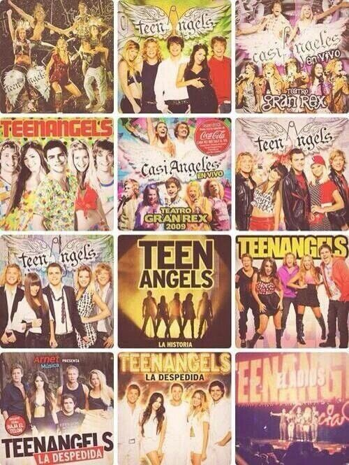 Los cds de teen angels