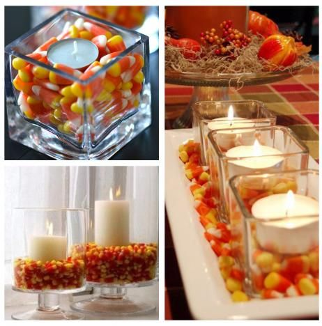 fun and easy ways to decorate for fall and halloween added bonus they arent large items you will have to store in the off season they are cheap - Cheap Halloween Party Decorations