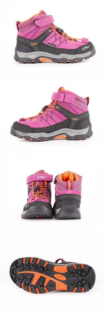 Kids 181394: Cmp Hiking Shoe Hiking Shoes Ankle Shoe Rigel Mid Pink Water Resistant -> BUY IT NOW ONLY: $88.17 on eBay!