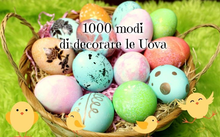 22 best easter images on pinterest easter decorating - Decorare uova di pasqua ...