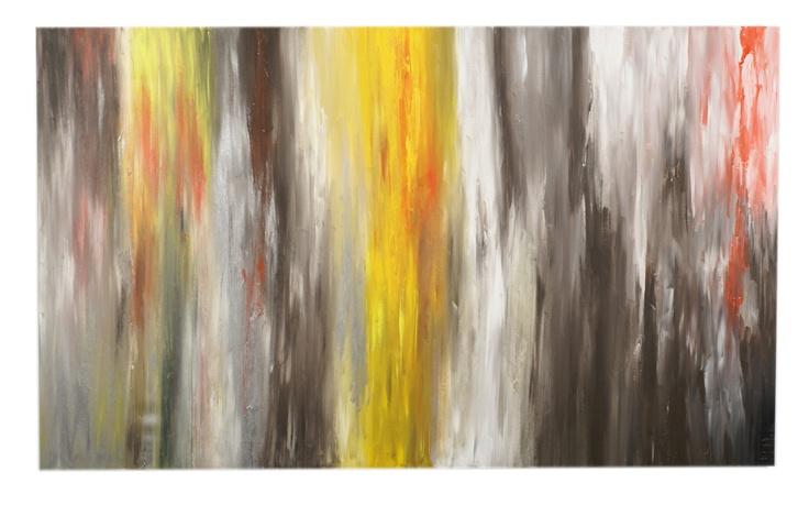 Crawl, 60x36, Acrylic on Canvas, 2010