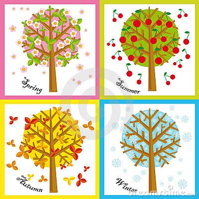 4 Seasons Stock Photo - Image: 6558640