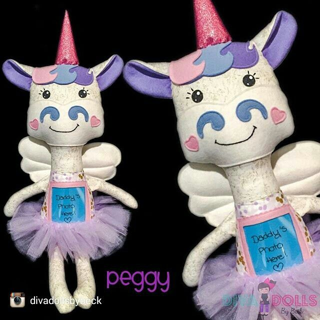 Meet Peggy. She is for a little girl to cuddle while her daddy is away. She is made by Diva Dolls by Beck. You can find all their details on our website www.halpaustralia.com.au
