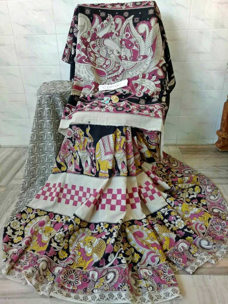 Kalamkari cotton sarees 2. Click here to buy https://www.moifash.com/south-ethnicz/product?id=58dbca36753d882d543cc9ab