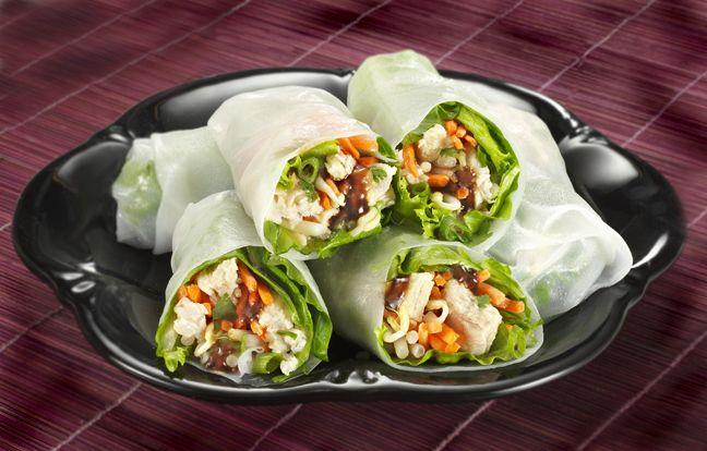 Receta de Wraps de atún asiáticos | Ideas para comidas saludables de Bumble Bee