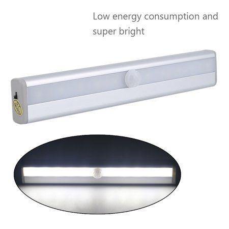 Outad 10 LED USB Motion Sensor StickOn Closet